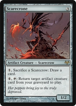 Magic the Gathering Eventide Single Scarecrone UNPLAYED (NM/MT)