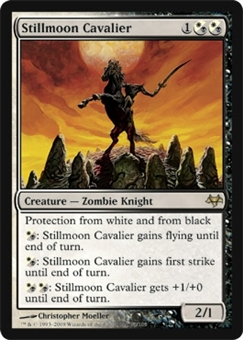 Magic the Gathering Eventide Single Stillmoon Cavalier Foil