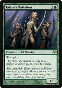 Magic the Gathering Eventide Single Talara's Battalion FOIL