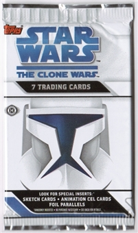 Star Wars Clone Wars Pack (2008 Topps)