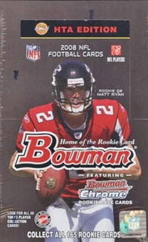 2008 Bowman Football Jumbo Box