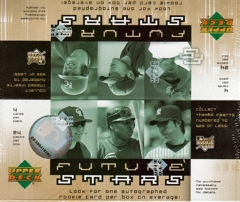 2007 Upper Deck Future Stars Baseball 24-Pack Box