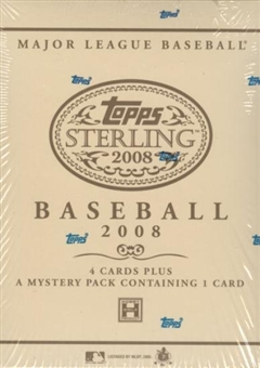 2008 Topps Sterling Baseball Hobby Box