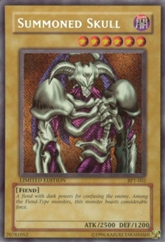 Yu-Gi-Oh Limited Edition Tin Single Summoned Skull Secret Rare (BPT-002)