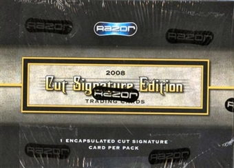 2008 Razor Cut Signature Edition Hobby Box