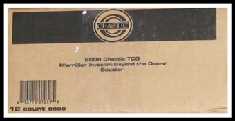 Chaotic M'arrillian Invasion Beyond the Doors Booster 12-Box Case
