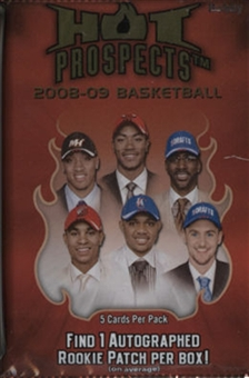 2008/09 Fleer Hot Prospects Basketball Hobby Pack
