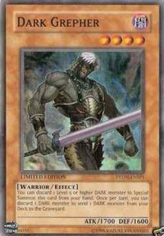 Yu-Gi-Oh Phantom Darkness Single Dark Grepher Super Rare PTDN-ENSP1