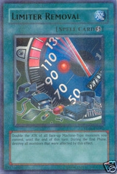 Yu-Gi-Oh Hobby League Single Limiter Removal Parrel Foil