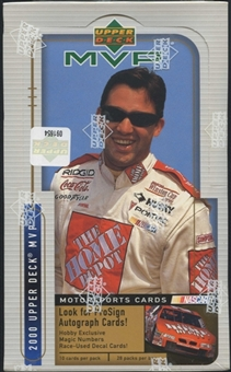 2000 Upper Deck MVP Racing Hobby Box