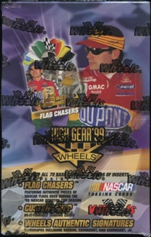 1999 Press Pass Wheels High Gear Racing Hobby Box