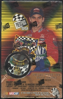 1999 Press Pass Racing Hobby Box