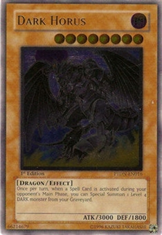 Yu-Gi-Oh Phantom Darkness Single Dark Horus Ultimate Rare