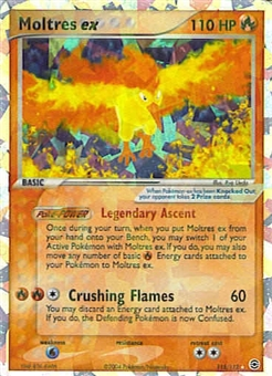Pokemon Fire Red Leaf Green Single Moltres ex 115/112