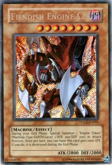 Yu-Gi-Oh Duelist Genesis Single Fiendish Engine Secret Rare