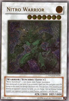 Yu-Gi-Oh Duelist Genesis Single Nitro Warrior Ultimate Rare
