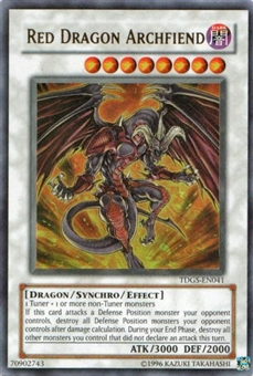 Yu-Gi-Oh Duelist Genesis Single Red Dragon Archfiend Ultra Rare