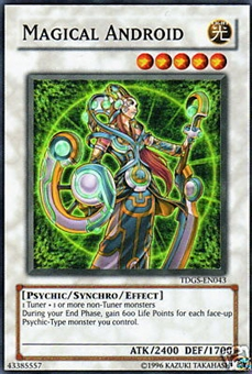 Yu-Gi-Oh Duelist Genesis Single Magical Android Super Rare