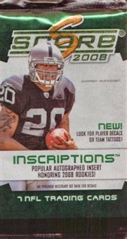 2008 Score Football Pack (Retail)