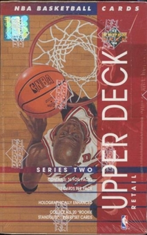 1993/94 Upper Deck Series 2 Basketball Retail Box
