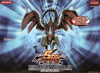 Upper Deck Yu-Gi-Oh Zombie World Structure Deck Box