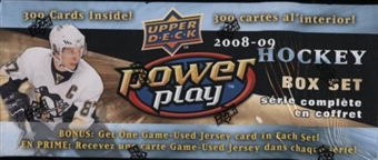 2008/09 Upper Deck Power Play Hockey Factory Set (Box)