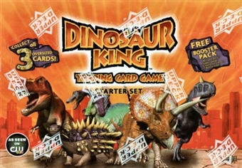 Upper Deck Dinosaur King Trading Card Game Starter Box
