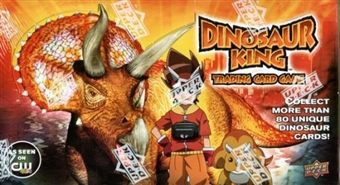 Upper Deck Dinosaur King Series 1 Booster Box
