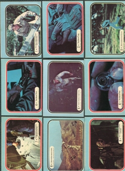 Six Million Dollar Man 66 Card Set 1975 Donruss