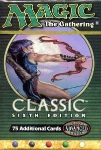 Magic the Gathering 6th Edition Tournament Starter Deck