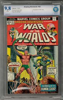 Amazing Adventures #22 CBCS 9.8 (W) *7006878-AA-013*