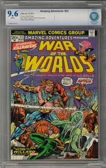 Amazing Adventures #23 CBCS 9.6 (W) *7006878-AA-015*