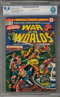 Amazing Adventures #25 CBCS 9.6 (W) *7006878-AA-017*