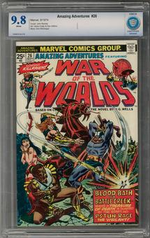 Amazing Adventures #26 CBCS 9.8 (W) *7006878-AA-018*
