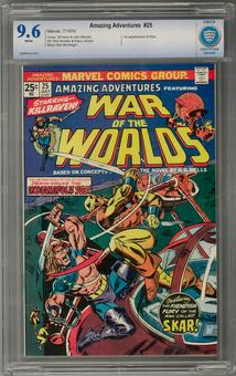 Amazing Adventures #25 CBCS 9.6 (W) *7006878-aa-021*