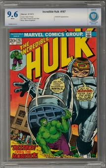 Incredible Hulk #167 CBCS 9.6 (W) *7006895-AA-012*