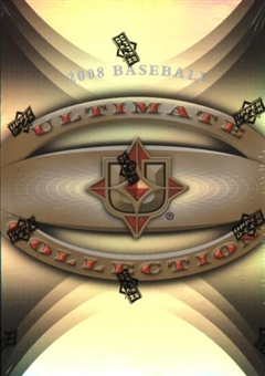 2008 Upper Deck Ultimate Collection Baseball Hobby Box (Pack)
