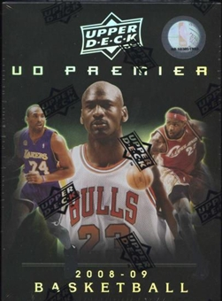 2008/09 Upper Deck Premier Basketball Hobby Box (Pack)