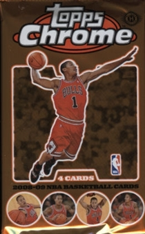 2008/09 Topps Chrome Basketball Hobby Pack