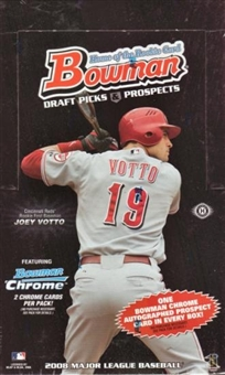 2008 Bowman Draft Picks & Prospects Baseball Hobby Box