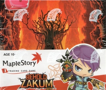 WOTC Maple Story Series 5 Behold Zakum Booster Box