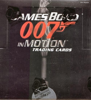 James Bond in Motion Trading Cards Box (Rittenhouse 2008)