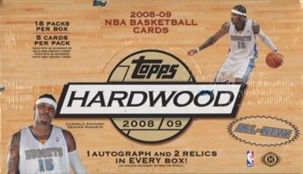 2008/09 Topps Hardwood Basketball Hobby Box