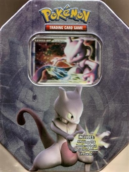 2008 Pokemon Holiday Mewtwo Tin