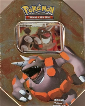 2008 Pokemon Holiday Rhyperior Tin