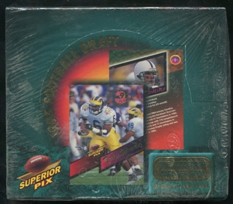 1995 Superior Pix Draft Football Hobby Box