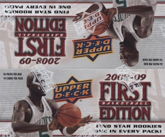 2008/09 Upper Deck First Edition Basketball 36-Pack Box