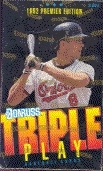 1992 Donruss Triple Play Baseball Hobby Box