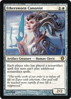 Magic the Gathering Shards of Alara Single Ethersworn Canonist - NEAR MINT (NM)