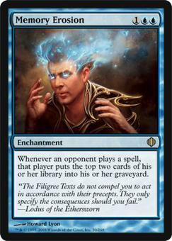 Magic the Gathering Shards of Alara Single Memory Erosion - NEAR MINT (NM)